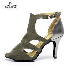 NEW Brand <b>Women's Flannel Latin</b> Dance Shoes Wholesale Spot ...