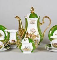 Фарфоровые <b>чайные сервизы</b> из Чехии