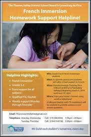 Homework Help Homework Help Line Information
