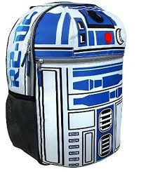 Star Wars R2D2 On Patrol 16 Backpack with Lights ... - Amazon.com