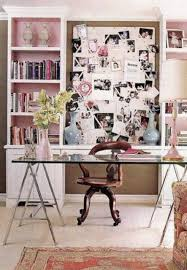 chic home office decor: