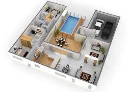 Impressive Floor Plans In D   Home Design    Balmoral Construciton Whistler  D Floor Plan