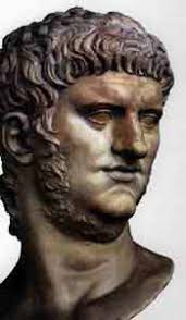 Primera parte de Neron, en, Vida de los doce Cesares de Suetonio. Captura y diseño, Chantal Lopez y Omar Cortes ... - neron