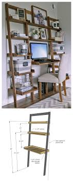 diy desk made with all 1x boards small space office ana white build ana white build office