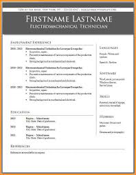 Curriculum Vitae Template For South Africa   Format Curriculum     CSE Engineer CV Format Template