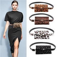 Women's <b>Waist bag</b> Fashion Leather <b>Fanny</b> Pack Serpentine Bag ...