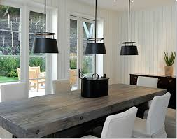 reclaimed distressed wood dining