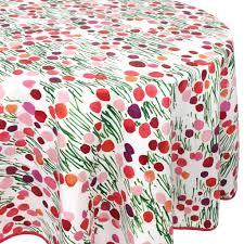 Oval <b>Tablecloth</b> 170x240 Cm <b>100</b>% Cotton Acrylic Coating PRAIRIE ...