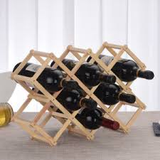 China 100% Natural Pine <b>Wood Red</b> Wine <b>Bottle Holder</b> - China ...
