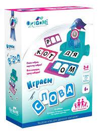 <b>Настольная игра</b>. Играем в слова. 110 предметов. <b>Origami</b> ...