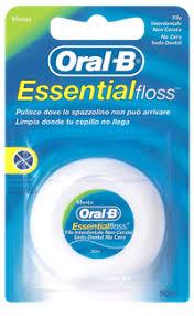 <b>Зубная нить ORAL</b>-<b>B Essential</b> floss невощеная – купить в сети ...