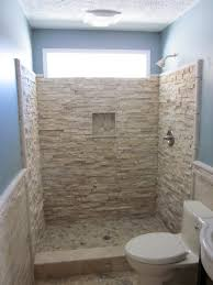 bathroom walk shower design