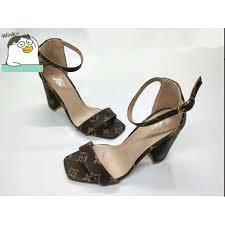<b>NEW</b> Arrival LV Leather 3 Inch <b>Fashion sexy elegant</b> Heels #GH-67 ...