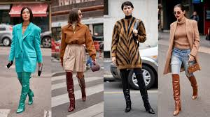 Max Mara's <b>Over-The-Knee Boots</b> Were Everywhere on Day 2 of ...