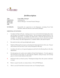 job description template hotel receptionist professional resume job description template hotel receptionist sample receptionist job description office manager job description template office manager