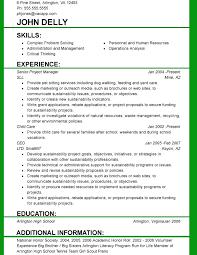 resume formatting templates resume format template formal resume standard resume format template
