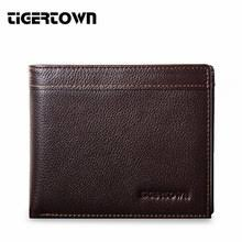 <b>Genuine Leather Mens Trifold</b> Wallets with Zipper Promotion-Shop ...