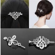 1 Pieces Trendy <b>Geometric</b> Shaped Crystal Hairpin <b>Chic</b> Female ...