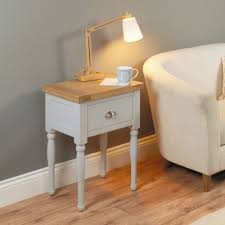 baumhaus chadwick grey painted lamp table baumhaus wine rack lamp table