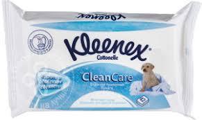 Купить <b>Туалетная бумага Kleenex</b> Cottonelle <b>Clean</b> Care влажная ...