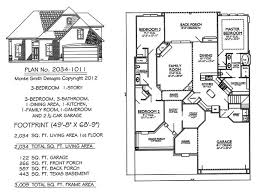 SQ feet bedroom House Plans    feet  Monte Smith Designs House Plans  middot  Story  Bedroom  Bathroom  Dining Area  Kitchen