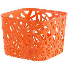 <b>Корзинка Curver</b> Neo квадратная пластик цвет оранжевый в ...