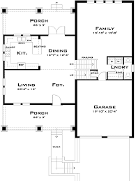 Plan W TD  Craftsman Split Level   e ARCHITECTURAL designW TD