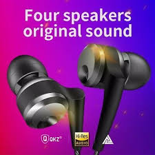 (Ad)(eBay Link) <b>QKZ KD10</b> wired double moving ring <b>headphones</b> ...