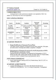 sample chemical engineering resumes ivysaur get resume today resume format for chemical engineer