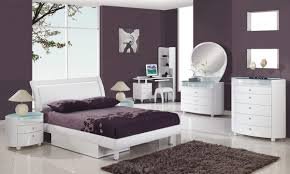 amazing white wood furniture sets modern design: furniture awesome oval mirrored design for bedroom furniture sets dark brown rectagle fur rug pure white full size of