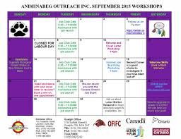 guelph workshop calendars anishnabeg outreach inc 2015