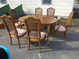 French Provincial Dining Room Sets Heir And Space New Acquisitions A Fruitwood Thomasville Dining Set