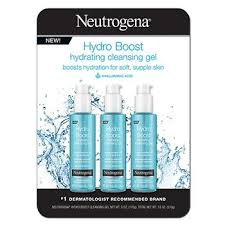 Neutrogena Hydro <b>Boost</b> Hydrating Cleansing Gel, <b>3</b> pk./6 oz. - BJs ...