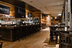the space has separate temperature sound and lighting controls it also has 7 hd flat screens in the back bar back bar lighting