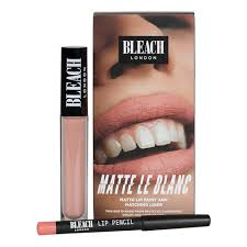 Набор <b>Матовая жидкая губная помада</b> и карандаш для губ ...