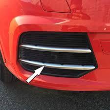 Generic Chrome ABS Matte Car Front Fog Light Lamp ... - Amazon.com