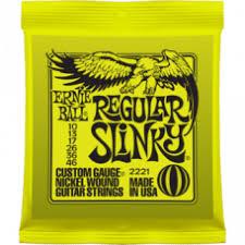 <b>Струны Ernie Ball</b> Regular Slinky 10-46 (2221) купить в интернет ...