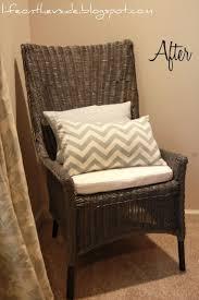 brown wicker outdoor furniture dresses: wicker chair makeover rustoleum granite minwax dark walnut on the legs