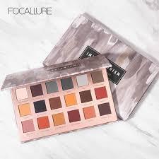 <b>FOCALLURE</b> Pure <b>Matte Eyeshadow Palette</b> Nude Colors <b>Matt</b> ...