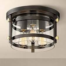 eagleton 13 12 wide oil rubbed bronze ceiling light ceiling lighting fixtures