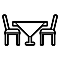 Image result for table and chair icon