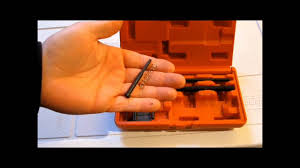 How To Use A Motorcycle Chain Breaker Tool - YouTube