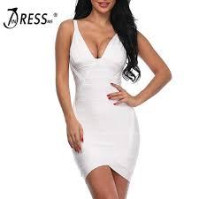 <b>INDRESSME</b> Fashion Women Bandage Party Dress <b>Sexy</b> Spaghetti ...