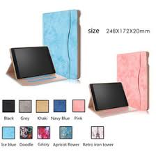 fashion cartoon silicone pu leather cover for apple ipad pro 10 5 2017 a1701 case funda tablet owl cat dog pattern stand shell