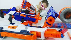 Пушки NERF и другое <b>оружие</b>. Обзор коллекции и стрелялки ...