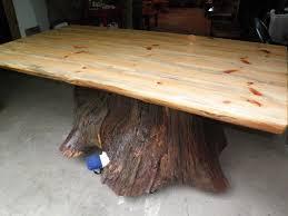 Custom Made Dining Room Furniture Tree Dining Table Agathosfoundationorg Tree Root Dining Table