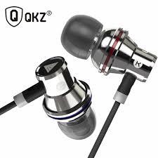 <b>Earphone QKZ DM9 Zinc</b> Alloy HiFi In Ear <b>Earphones</b> fone de ...