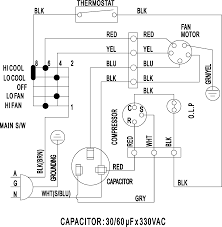 window a c wiring diagram   wiring schematics and diagramswindow unit air conditioner wiring diagram