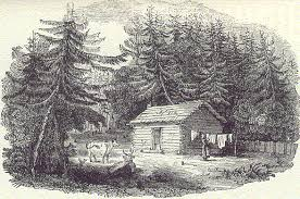 Image result for pioneer cabin Upper Canada