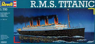 Image result for revell titanic 1:700 kit details